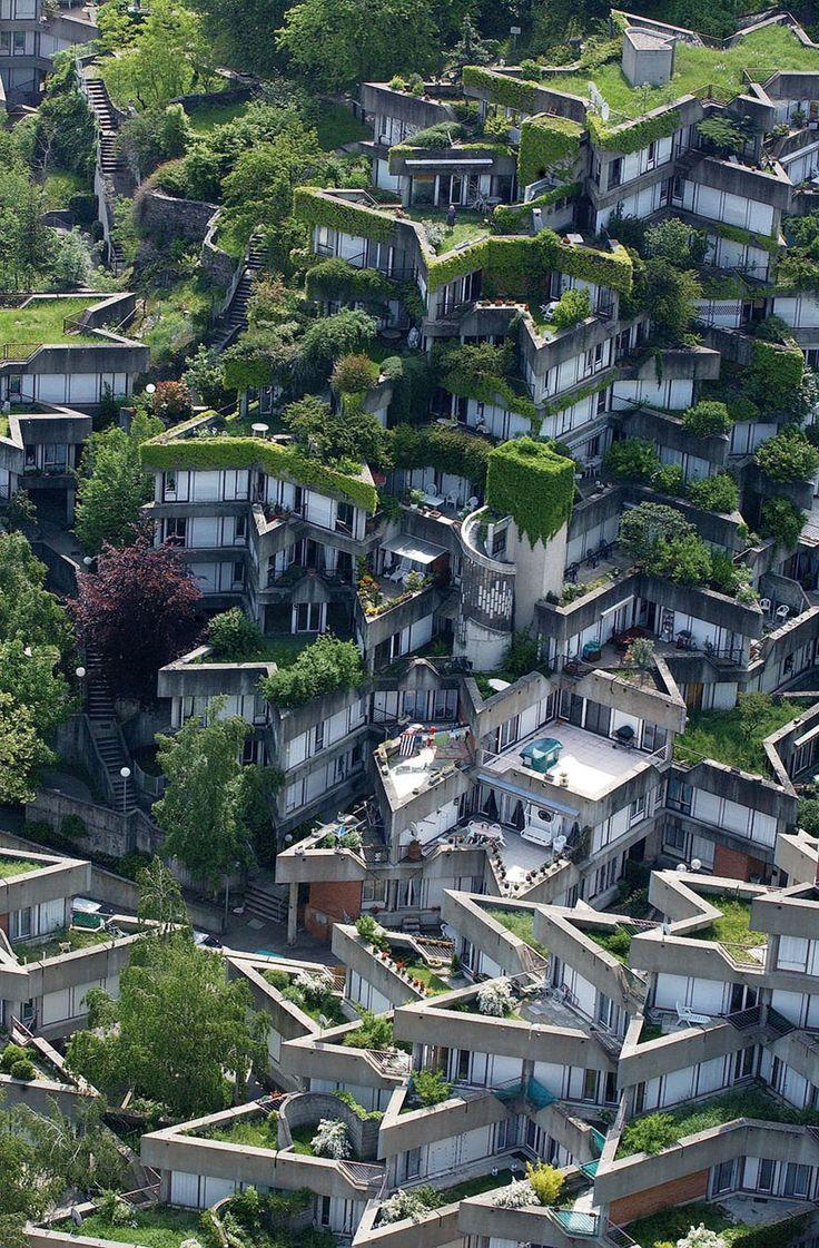 Jean Renaudie's housing complex in Ivry-sur-Seine, Paris
