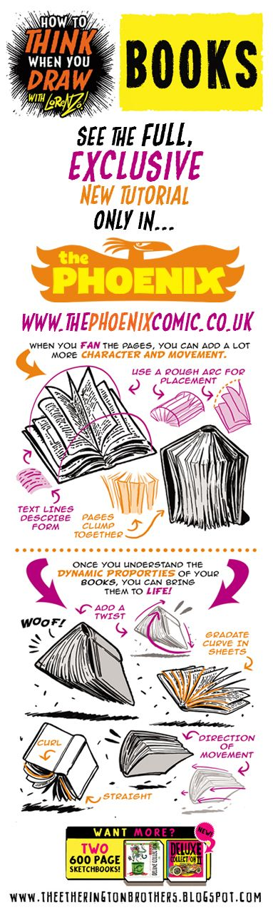 The Etherington Brothers: How to THINK when you draw BOOKS tutorial taster