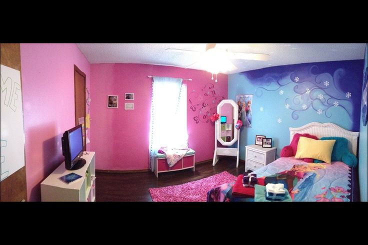 Disney S Frozen Inspired Bedroom For Girls Room My