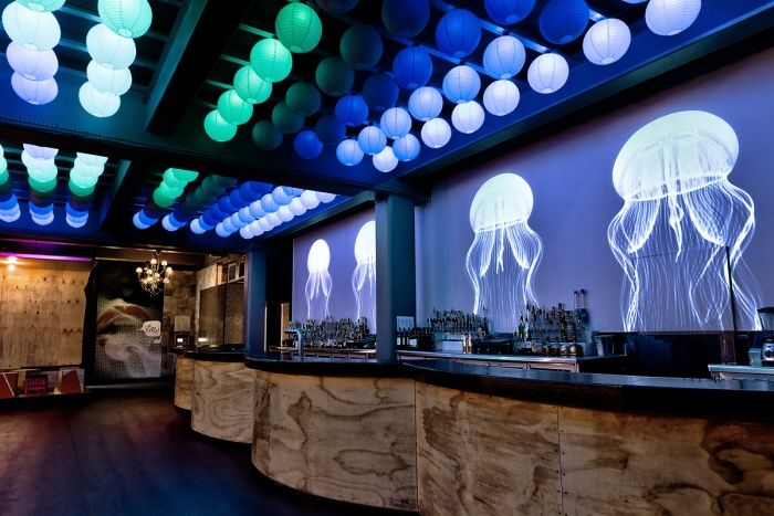Nightclub Bar Interior Design Architecture Lighting