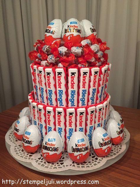 Letztes Wochenende waren wir zu dem Geburtstag des Bruders meines Freundes eingeladen. Und ich wollte schon immer mal diese tolle Torte probieren, die ich bei Pinterest gesehen hatte. Da ich aber k...