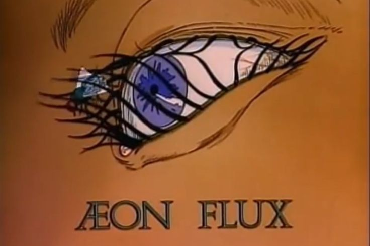 Aeon Flux is the avant-garde adult cartoon of the 90s