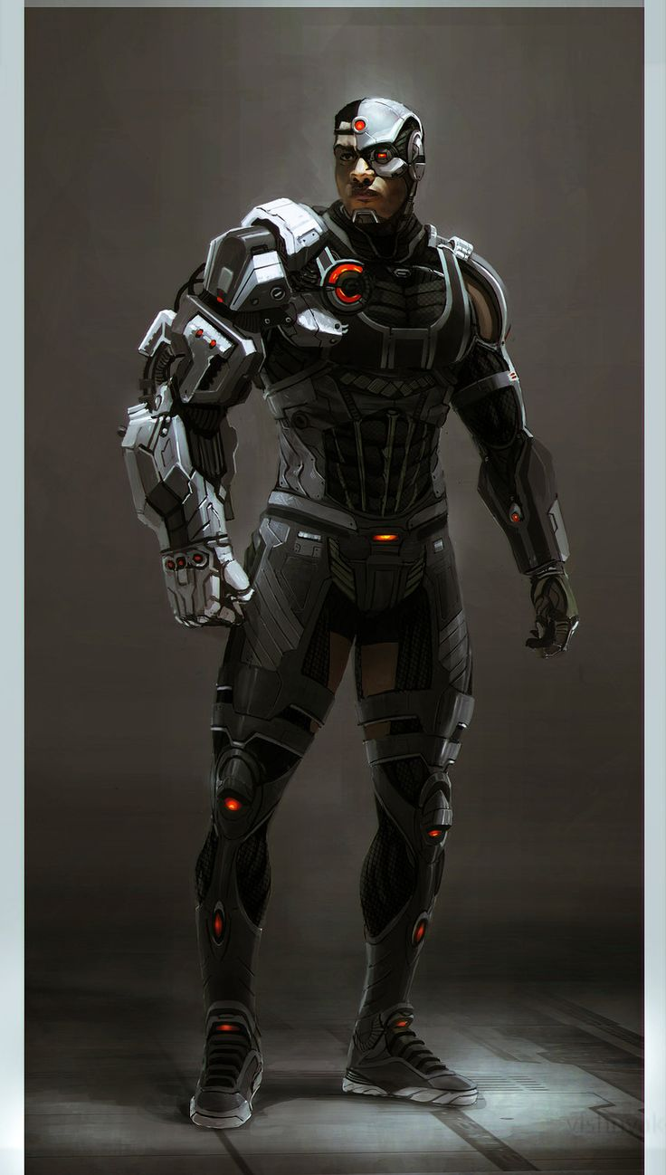 Batman v Superman Cyborg, LEWIS FISCHER on ArtStation at http://www.artstation.com/artwork/batman-v-superman-cyborg