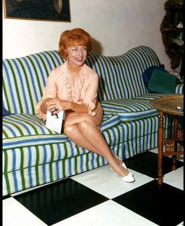 """Bewitched"" Agnes Moorehead c. 1967 ABC"