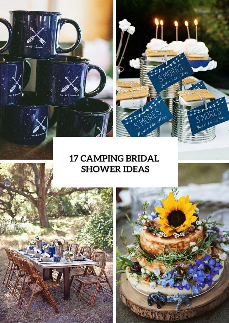 Today we present 17 cozy and fun camping bridal shower ideas. While a bridal shower traditionally is thought to be the perfect time to immerse the bride and her closest friends and family members in feminine fun, if the bride likes outdoor activities then a camping bridal shower theme would be a great idea. Bridal [...]