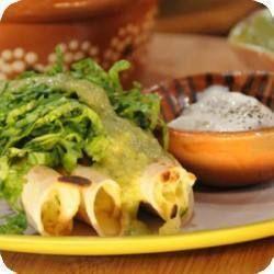 Tacos dorados de papa y queso | Cocina