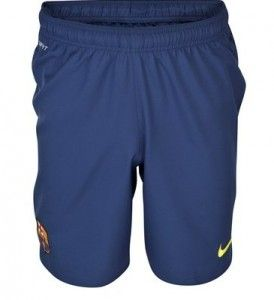Barcelona Shorts 13/14 Home Shorts Soccer Shorts Football Shorts Nike Deep Blue