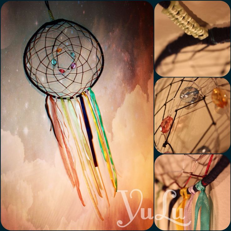 Dreamcatcher colourful :)
