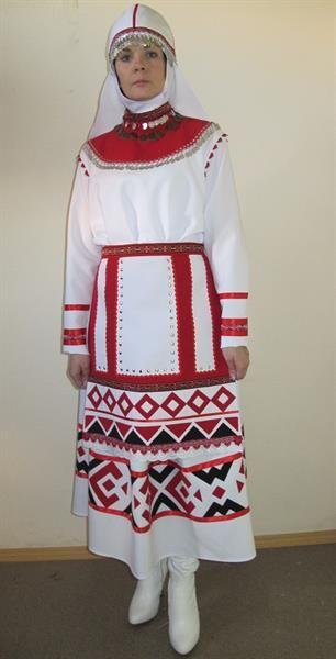 Костюм женский чувашский