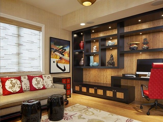Superb Asian Office Decor | Asian Influence Decor In Large Office | Office Design  | Office Ideas | Pinterest | Asian Furniture, Modern Asian And Office  Designs