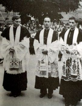 Pope Benedict XVI Ordination