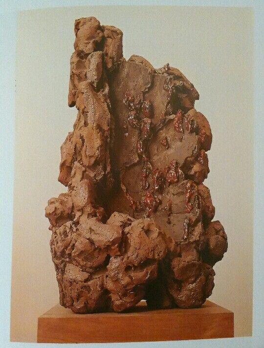 217. Leoncillo, Grande presagio, 1960, Collezione Leoncillo Leonardi,  Roma