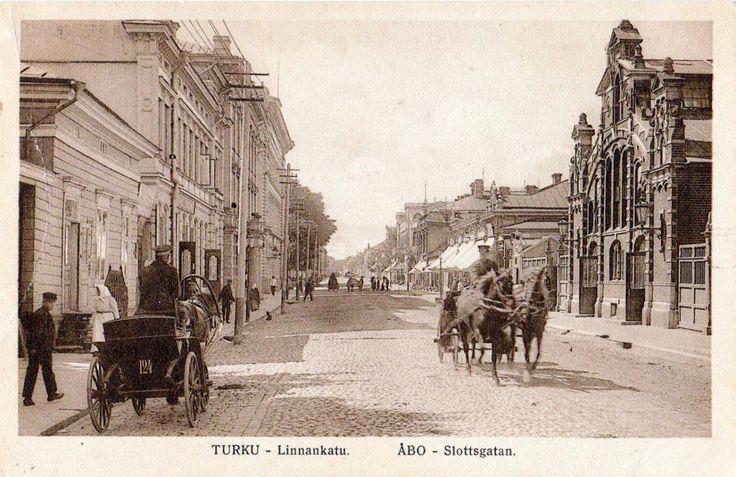 Turku 1800/1900-luku / Postcard Turku, Finland late 1800s or early 1900s