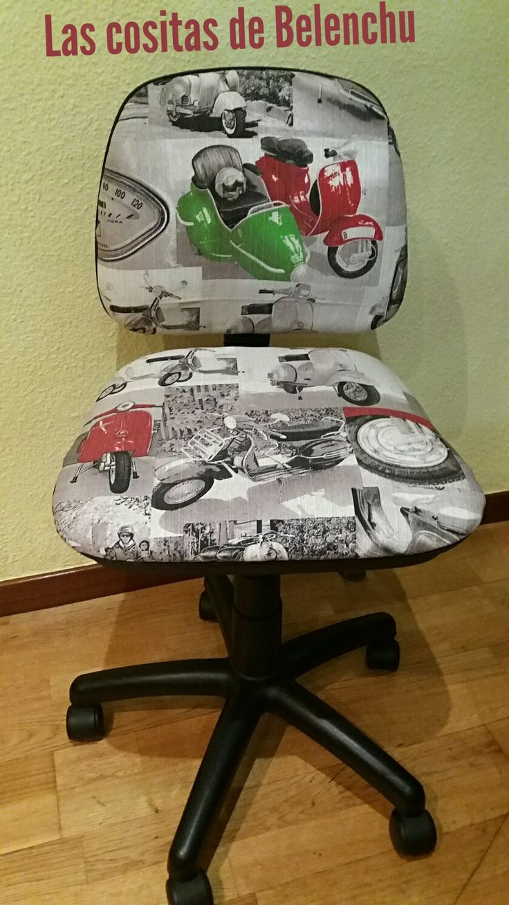Tapizado una vieja silla...