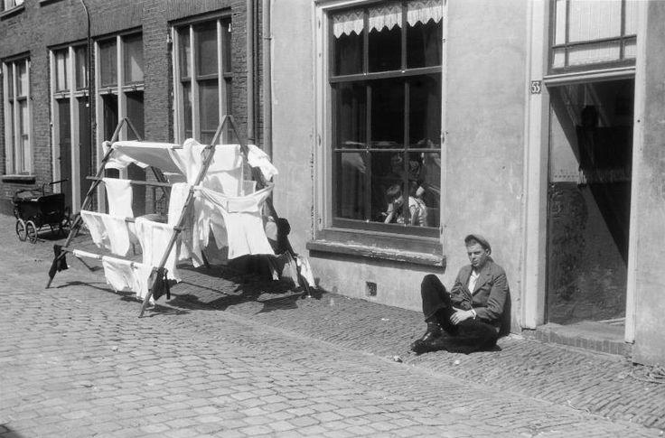 Utrecht - Wijk C - 1942 - fotograaf Nico Jesse