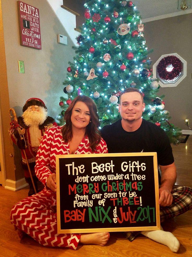 Our Christmas Pregnancy Announcement Babies Unique