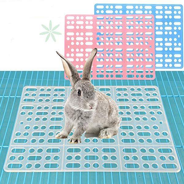 Amazon Gifty イージーホーム用 小動物 すのこ 2枚セット 休足フロアー ウサギのマット チンチラ デグー メッシュスノコ ビラン予防 Gifty 飼育ケージ内装 通販 チンチラ デグー ウサギ