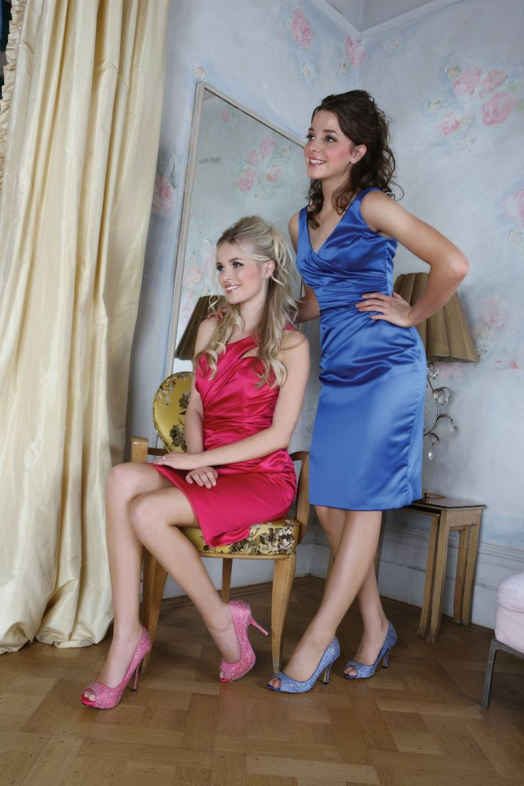Luxe in fuchsia en Celebrate in blue