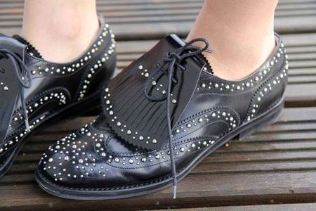...and to think I wore brogues like these every day to my all girl's school. Now i get to wear Church's since I'm a big girl now!