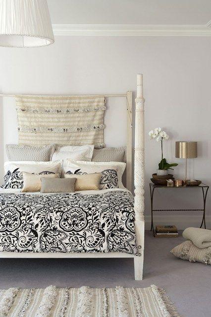 Textured Textiles - Bedroom Design Ideas & Pictures – Decorating Ideas (houseandgarden.co.uk)