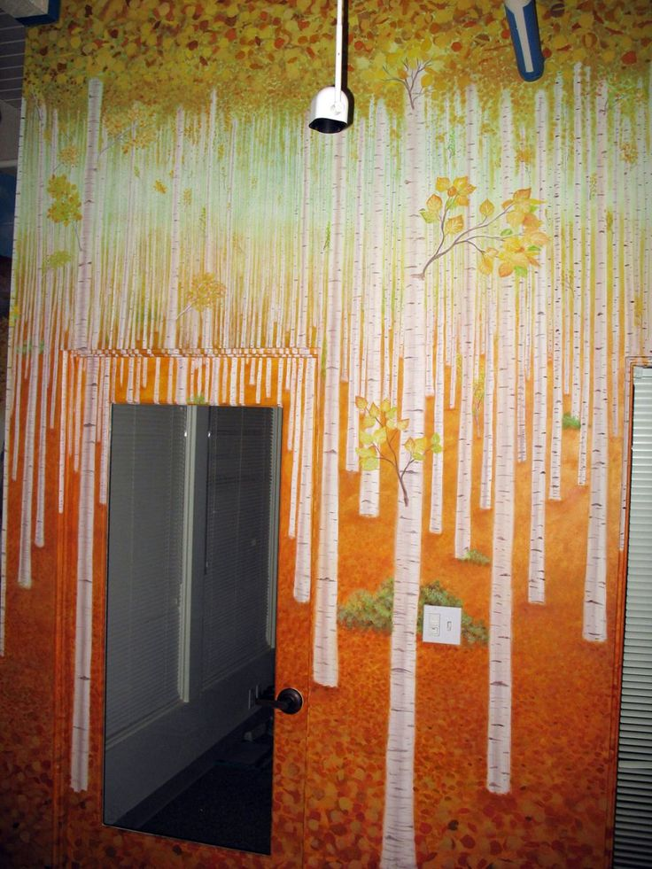 32 best ideas about rainahs mural ideas on pinterest for Aspen wall mural
