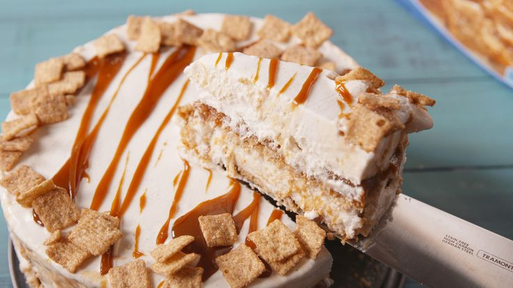 This Cinnamon Toast Crunch Ice Cream Cake Proves That This Cereal Tastes Even Better As an Adult - Delish.com
