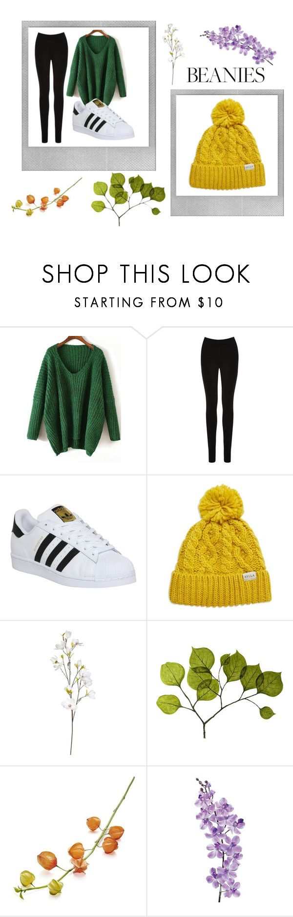 """""""beanies"""" by onlycoffenosugar ❤ liked on Polyvore featuring Polaroid, Oasis, adidas, Rella, OKA, Dot & Bo, Crate and Barrel and Laura Cole"""