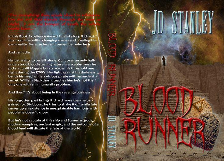 Blood Runner by JD Stanley, dark fantasy - new cover release