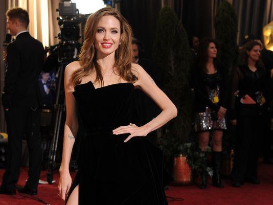 Angelina Jolie's famous leg leads Oscar rehearsals - USA TODAY #Angelina_Jolie, #Oscars