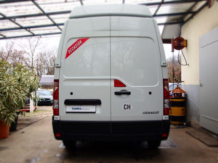Renault Master 2.3 dCi L3H3 | 2014 | 14'000 KM | CHF 28'900.- Forfait de livraison CHF 290.-