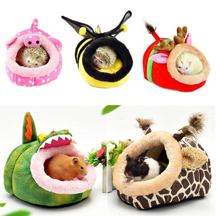 Small Animal Soft Bed Pet Hammock Hamster Rat Guinea Pig House Nest Pad For Cage  | eBay