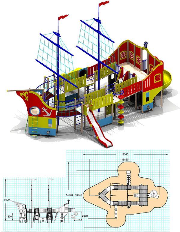 Детские игровые комплексы (от 6 до 12) - Каталог - Детские игровые площадки