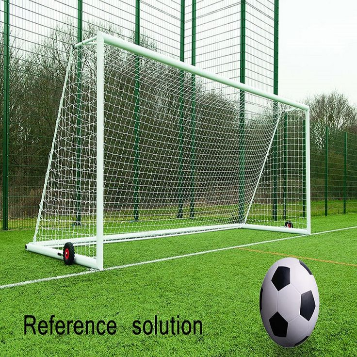 8 x 24 FT Full Size Football Net for Soccer Goal Post Junior Sports Training Rain-resistant Weather-proof Football Net Adult#swgraphix