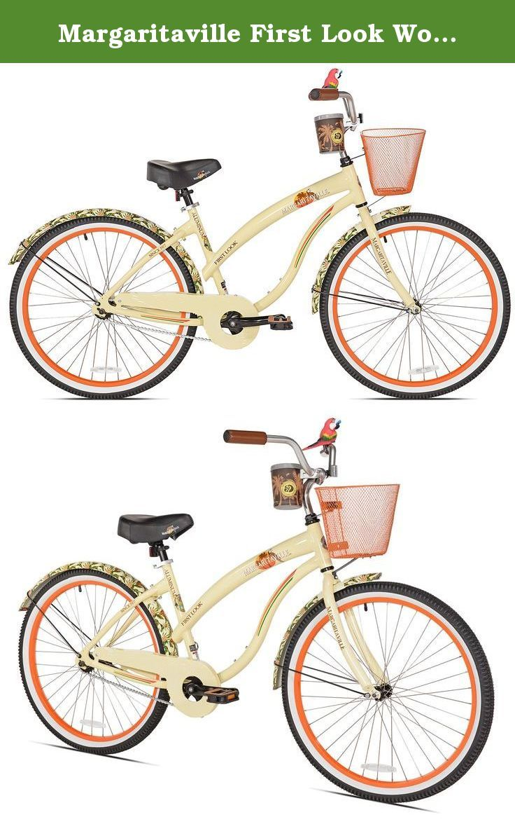 Margaritaville First Look Women's Beach Cruiser Bike, 26
