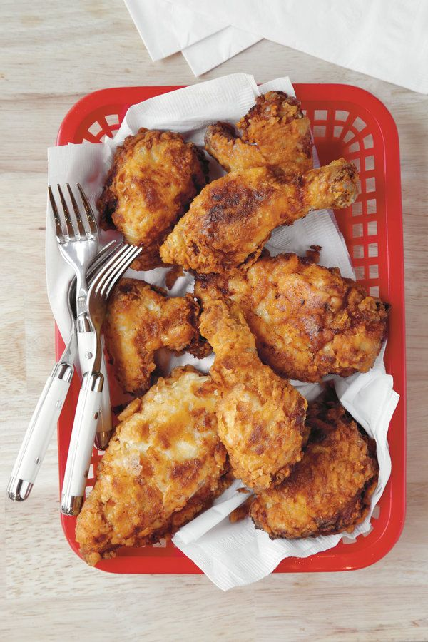 Mama's Fried Chicken: Our most shared fried chicken recipe of all time, this Southern classic is perfectly crispy on the outside and juicy on the inside.