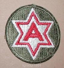 WW2 ERA US ARMY SIXTH ARMY INSIGNIA PATCH