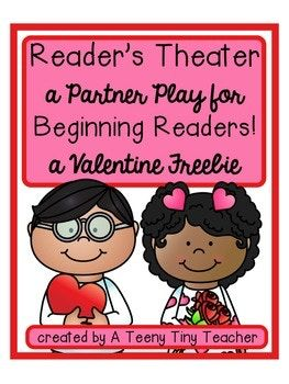 Reader's Theater - This play can be used for centers, Language Arts activities, fluency practice, guided reading, partner reading, etc. It is designed and created with beginning readers in mind. It has large font, picture clues, and predictable sentence patterns.
