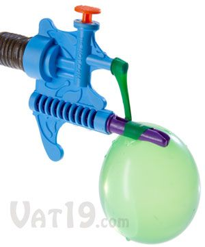 Tie-Not Water Balloon Filler and Tying Tool - effortlessly fill and tie water gallons in matter of seconds - EASY!