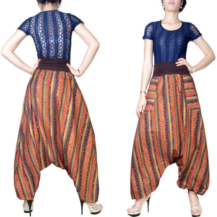 Pantalon Sarouel Pour Femme Toile De Coton
