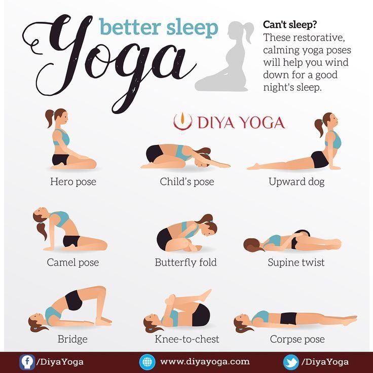 9 Yoga Poses To Help You Sleep Better Yoga Yogaposes Yogaposesforbeginners Yogaposesideas Exercise For Pregnant Women Yoga Poses Types Of Yoga