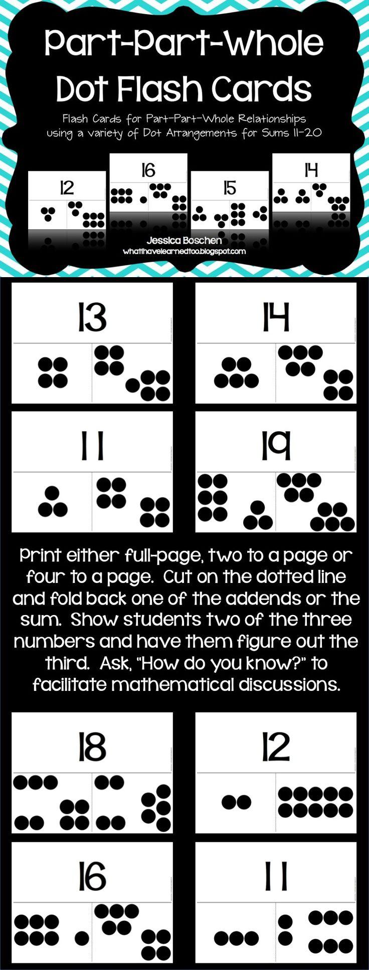 Unique Part Part Whole Math Worksheets First Grade Component - Math ...