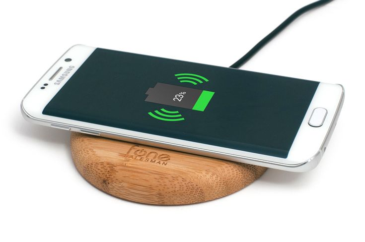 WoodPuck: Bamboo Edition Wireless Charger - Fonesalesman  - 5