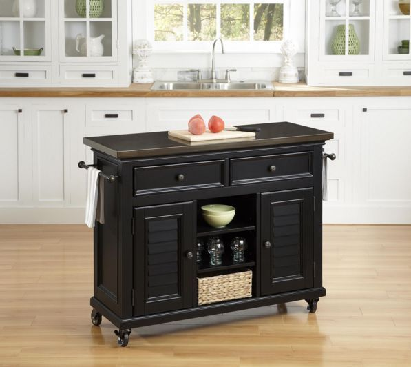 Kitchen Appliance Cart Island On Wheels Casters Storage Organization Home NEW #HomeStyles
