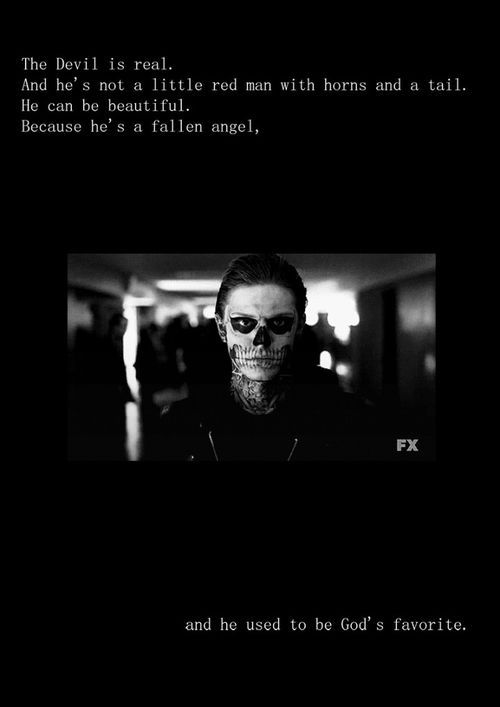 The devil is real. And he's not a little red man with horns and a tail. He can be beautiful. Because he's a fallen angel and he used to be God's favorite.