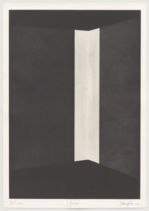 James Turrell. Joecar from First Light. 1989-90.  One from a portfolio of twenty aquatints