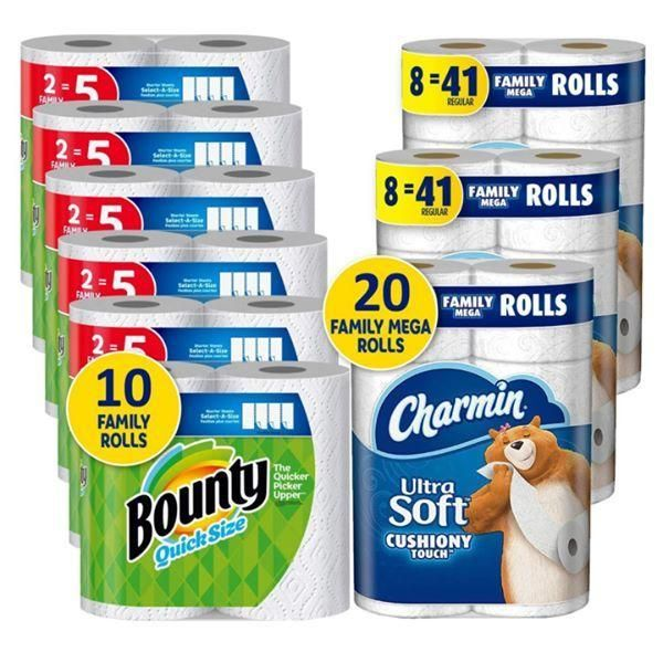 Charmin Ultra Soft Cushiony Touch Toilet Paper In 2020 Charmin Toilet Paper Kitchen Roll