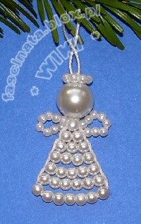 bead angel and many other Christmas decoration ideas