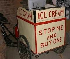 It has often been said that the Chinese invented ice cream and that Marco Polo brought the idea to Europe in the 13th century. It can be sated with some confidence that ice cream was invented in China in the first milenium. The process of freezing liquids by immersing them in a mixture of ice and salt, which react together to lower the temperature of the mixture below freezing point, was also invented in the distant past.