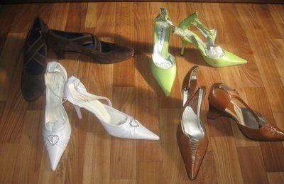 Обувь женская - туфли на каблучке. Разная. Новая Дешевая Распродажа дешево - женские туфли на каб