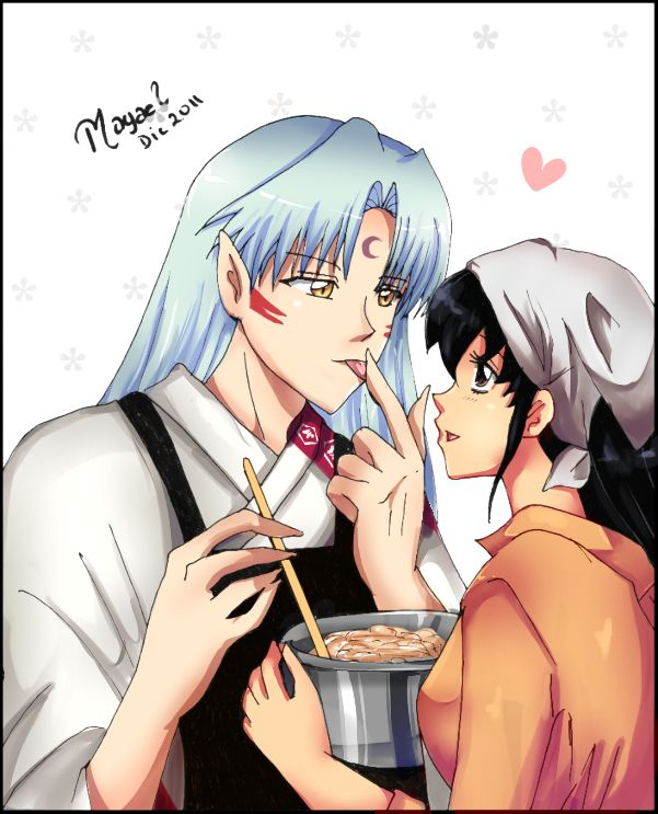 212 Best Images About Inuyasha Inuyasha X Kagome On: 17 Best Images About Sesshomaru X Kagome On Pinterest